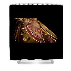 Steinway Guts Shower Curtain