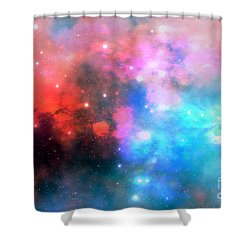 Stellar Relic Shower Curtain by Corey Ford