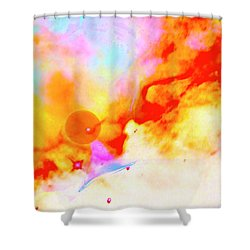 Stellar Shower Curtain