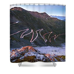 Stelvio Pass Shower Curtain