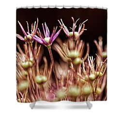 Stems Shower Curtain