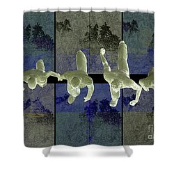 Step Into The Vortex Shower Curtain