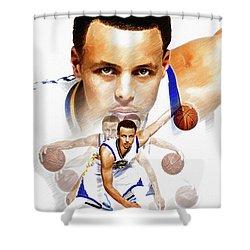 Steph Curry Shower Curtains Fine Art America