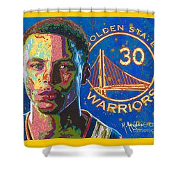 Steph Curry Shower Curtain
