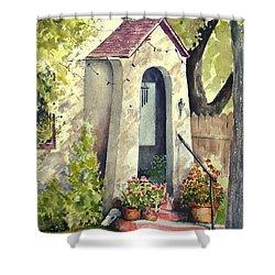 Stephanie's Porch Shower Curtain