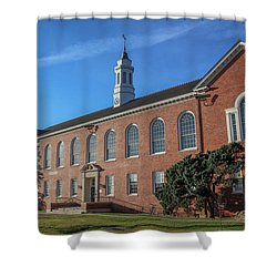 Stephens Hall Shower Curtain