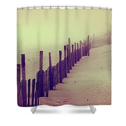 Stepping In A Clouded Dream Shower Curtain