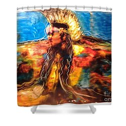 Stepping Into The Soul Shower Curtain