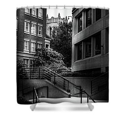Steps In Charlotte Shower Curtain