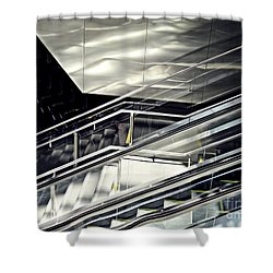 Steps Shower Curtain by Sarah Loft