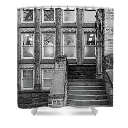 Steps Up Shower Curtain