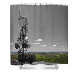 Steptoe Butte Overlooking The Palouse - Eastern Washington State Shower Curtain by Daniel Hagerman