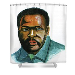 Steve Biko Shower Curtain