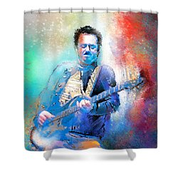 Steve Lukather 01 Shower Curtain