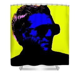 Steve Mcqueen Shower Curtain by Emme Pons