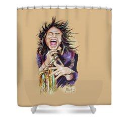 Steven Tyler Shower Curtain by Melanie D