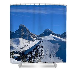 Steve Baugh Bowl Shower Curtain by Eric Tressler