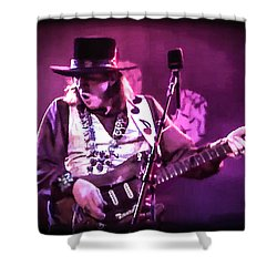 Stevie Ray Vaughan - Change It Shower Curtain