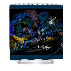 Stevie Ray Vaughan - Double Trouble Shower Curtain