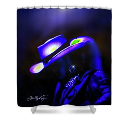 Stevie Ray Vaughan -  Superstition  Shower Curtain