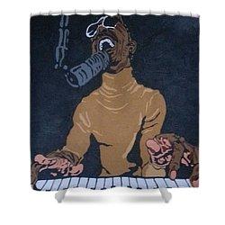 Stevie Wonder Shower Curtain
