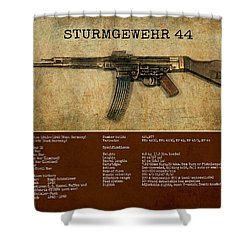 Stg 44 Sturmgewehr 44 Shower Curtain