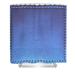 Stiched Leather Look Blue Abstract Wall Decorations By Navinjoshi At Fineartamerica.com Download Jpg Shower Curtain