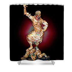 Stick Up Shower Curtain