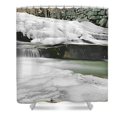 Stickney Brook Falls Shower Curtain