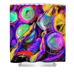 Sticks And Skins Shower Curtain