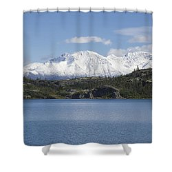 Stikine Mountains 7 Shower Curtain
