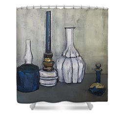 Still After G. Morandi Shower Curtain