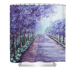 Still Defiant Shower Curtain
