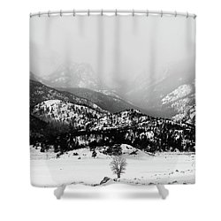 Shower Curtain featuring the photograph Still Holding The Fort by Silke Brubaker