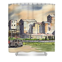 Still In Business Shower Curtain