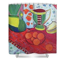 Still Life After Matisse Shower Curtain