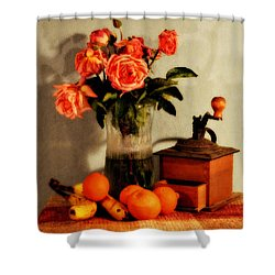 Shower Curtain featuring the photograph Still Life - Aging by Glenn McCarthy Art and Photography