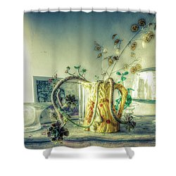 Shower Curtain featuring the photograph Still, Life Goes On by Wayne Sherriff
