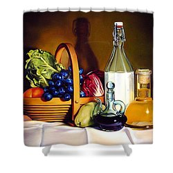 Still Life In Oil Shower Curtain by Patrick Anthony Pierson