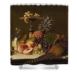 Still Life Shower Curtain by Johann Wilhelm Preyer