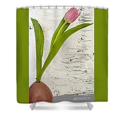 Still Life Tulip Shower Curtain by Marsha Heiken