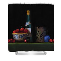 Still Life With The Alsace Jug Shower Curtain