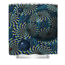 Still Motion Shower Curtain