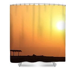 Still Out Of The Shade Shower Curtain by Jez C Self