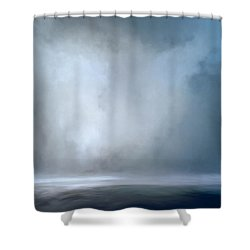 Still Reflections Shower Curtain