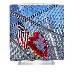 Shower Curtain featuring the photograph Still Remembered  by Sarah Loft