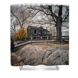 Still Standing Ir Shower Curtain