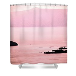 Still The Day Begins Shower Curtain