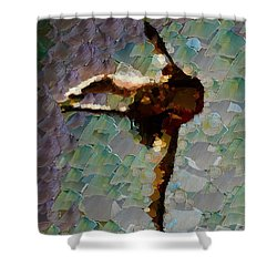 Still Thoughts - Ballerina Shower Curtain by Sir Josef - Social Critic -  Maha Art