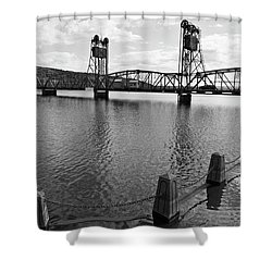 Still Waters In Stillwater Shower Curtain